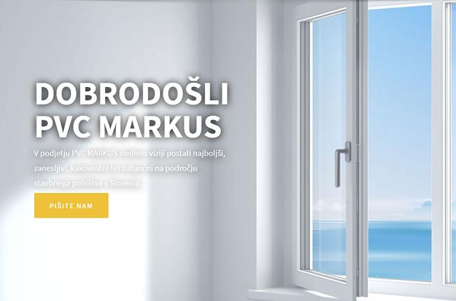 stavbno pohištvo - pvc markus